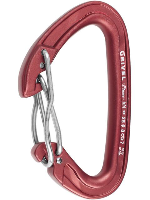 Grivel Plume K3G - Mousquetons - rouge